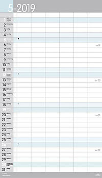 XL Familienplaner Pastell 2019 - Produktdetailbild 5