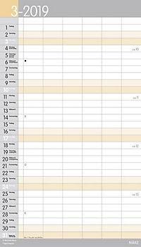 XL Familienplaner Pastell 2019 - Produktdetailbild 3