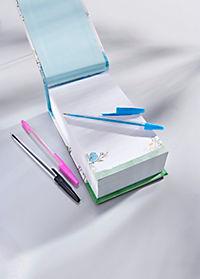 XL-Notizblock mit 3 Stiften - Produktdetailbild 2