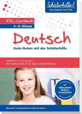 XXL-Lernbuch Deutsch 4./5. Klasse -  pdf epub