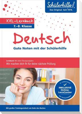 XXL-Lernbuch Deutsch 7./8. Klasse -  pdf epub
