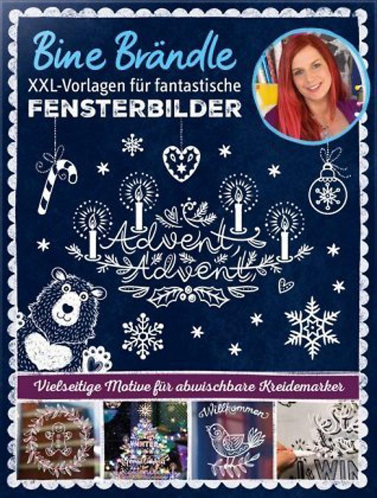 Xxl Vorlagen Fur Fantastische Fensterbilder Buch Versandkostenfrei