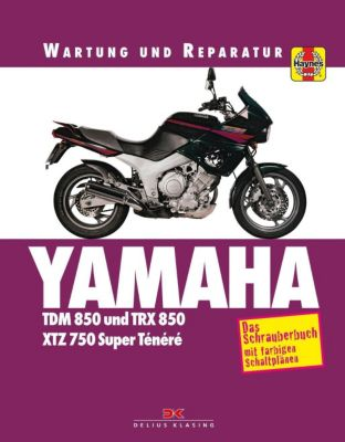 Yamaha TDM 850 und TRX 850 XTZ 750 Super Tenere - Matthew Coombs |