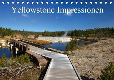 Yellowstone Impressionen (Tischkalender 2019 DIN A5 quer), U. Gernhoefer