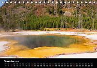 Yellowstone Impressionen (Tischkalender 2019 DIN A5 quer) - Produktdetailbild 11