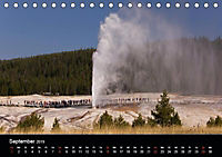 Yellowstone Impressionen (Tischkalender 2019 DIN A5 quer) - Produktdetailbild 9