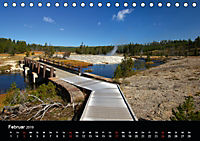 Yellowstone Impressionen (Tischkalender 2019 DIN A5 quer) - Produktdetailbild 2