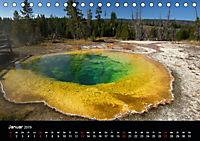 Yellowstone Impressionen (Tischkalender 2019 DIN A5 quer) - Produktdetailbild 1