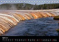 Yellowstone Impressionen (Tischkalender 2019 DIN A5 quer) - Produktdetailbild 4