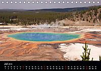Yellowstone Impressionen (Tischkalender 2019 DIN A5 quer) - Produktdetailbild 7