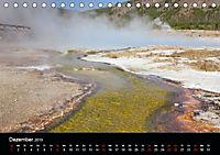 Yellowstone Impressionen (Tischkalender 2019 DIN A5 quer) - Produktdetailbild 12