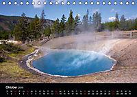 Yellowstone Impressionen (Tischkalender 2019 DIN A5 quer) - Produktdetailbild 10