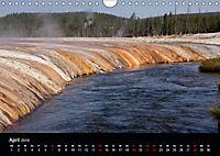 Yellowstone Impressionen (Wandkalender 2019 DIN A4 quer) - Produktdetailbild 4