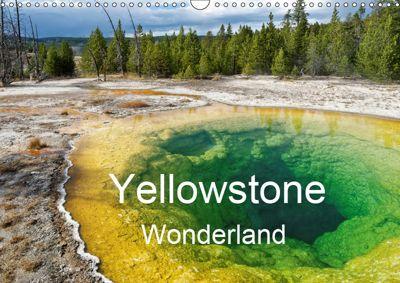 Yellowstone Wonderland (Wall Calendar 2019 DIN A3 Landscape), Michel DENIS