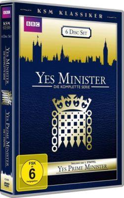 Yes Minister - Die komplette Serie + Yes, Prime Minister - Staffel 1, Antony Jay, Jonathan Lynn