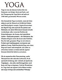 Yoga - Produktdetailbild 2