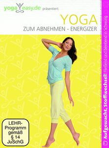 yoga easy yoga zum abnehmen energizer dvd. Black Bedroom Furniture Sets. Home Design Ideas