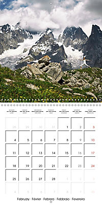 Yoga in the Italian Alps (Wall Calendar 2019 300 × 300 mm Square) - Produktdetailbild 2