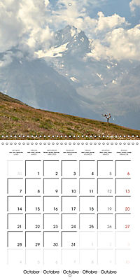 Yoga in the Italian Alps (Wall Calendar 2019 300 × 300 mm Square) - Produktdetailbild 10