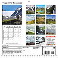 Yoga in the Italian Alps (Wall Calendar 2019 300 × 300 mm Square) - Produktdetailbild 13