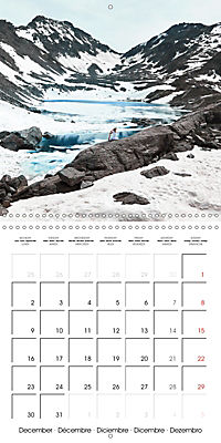 Yoga in the Italian Alps (Wall Calendar 2019 300 × 300 mm Square) - Produktdetailbild 12