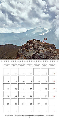 Yoga in the Italian Alps (Wall Calendar 2019 300 × 300 mm Square) - Produktdetailbild 11