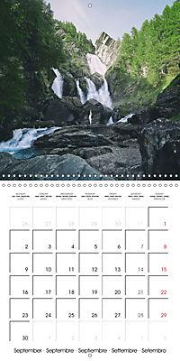 Yoga in the Italian Alps (Wall Calendar 2019 300 × 300 mm Square) - Produktdetailbild 9