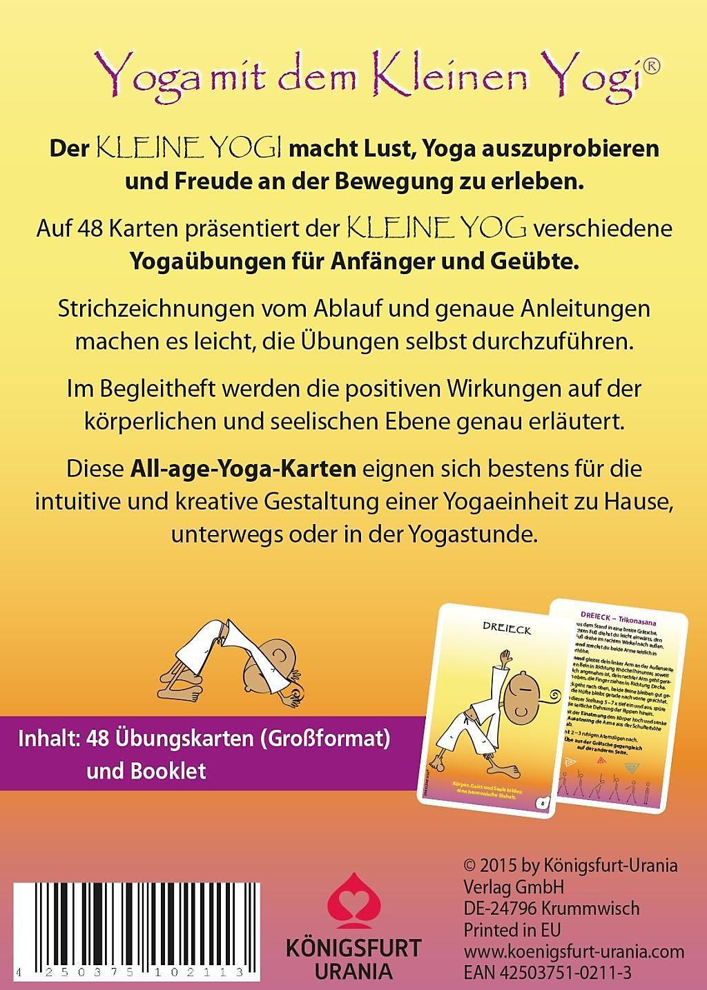yogakarten yoga mit dem kleinen yogi