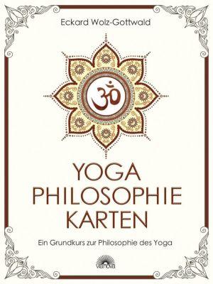 Yoga Philosophie Karten, m. 84 Karten - Eckard Wolz-Gottwald |