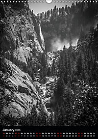 Yosemite - Might And Majesty (Wall Calendar 2019 DIN A3 Portrait) - Produktdetailbild 1
