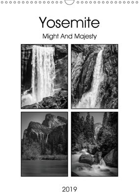 Yosemite - Might And Majesty (Wall Calendar 2019 DIN A3 Portrait), Gareth Burge Photography