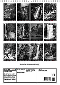 Yosemite - Might And Majesty (Wall Calendar 2019 DIN A3 Portrait) - Produktdetailbild 13