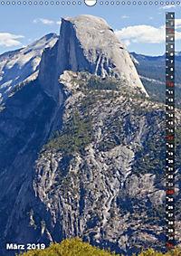 YOSEMITE VALLEY Natur Pur (Wandkalender 2019 DIN A3 hoch) - Produktdetailbild 3