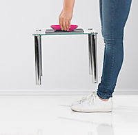 Yummynator Futternapf mit Platzmatte S pink - Produktdetailbild 2