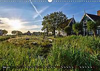 Zaanse Schans - Landschaft und historische Windmühlen (Wandkalender 2019 DIN A3 quer) - Produktdetailbild 3
