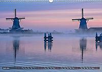 Zaanse Schans - Landschaft und historische Windmühlen (Wandkalender 2019 DIN A3 quer) - Produktdetailbild 6