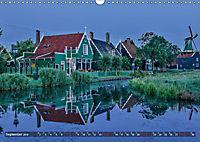 Zaanse Schans - Landschaft und historische Windmühlen (Wandkalender 2019 DIN A3 quer) - Produktdetailbild 9