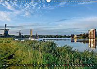 Zaanse Schans - Landschaft und historische Windmühlen (Wandkalender 2019 DIN A3 quer) - Produktdetailbild 7