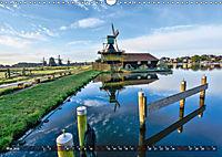 Zaanse Schans - Landschaft und historische Windmühlen (Wandkalender 2019 DIN A3 quer) - Produktdetailbild 5