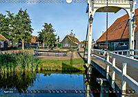 Zaanse Schans - Landschaft und historische Windmühlen (Wandkalender 2019 DIN A3 quer) - Produktdetailbild 4