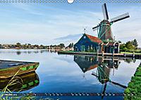 Zaanse Schans - Landschaft und historische Windmühlen (Wandkalender 2019 DIN A3 quer) - Produktdetailbild 10
