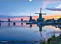 Zaanse Schans - Landschaft und historische Windmühlen (Wandkalender 2019 DIN A3 quer) - Produktdetailbild 11