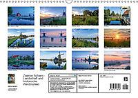 Zaanse Schans - Landschaft und historische Windmühlen (Wandkalender 2019 DIN A3 quer) - Produktdetailbild 13