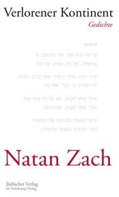 Zach, N: Verlorener Kontinent - Natan Zach pdf epub