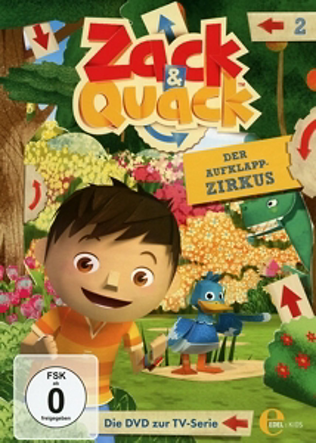 a0d4224134 Zack & Quack - Folge 2: Der Aufklapp-Zirkus DVD | Weltbild.de