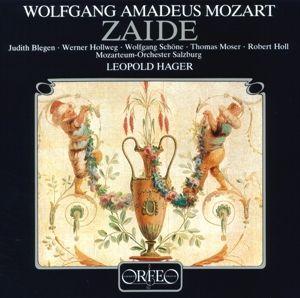Zaide-Deutsches Singspiel In 2 Akten Kv 344 (Ga), Blegen, Hollweg, Schöne, Moser, Holl, Hager, Mos