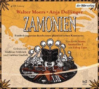 Zamonien, 4 Audio-CDs, Walter Moers, Anja Dollinger