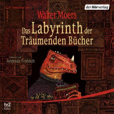 Zamonien Band 6: Das Labyrinth der Träumenden Bücher (12 Audio-CDs), Walter Moers