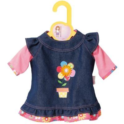 Zapf BABY born® Kleider Kollektion Dolly Moda Jeanskleid, Größe 30-36cm