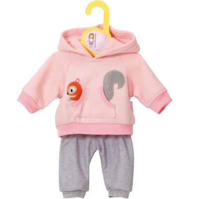 Zapf BABY born® Kleider Kollektion Dolly Moda Jogginganzug pink, Größe 38-46cm